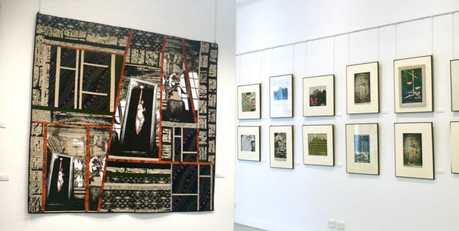 A Collaboration Exhibition of Photography Textile and Textile Art